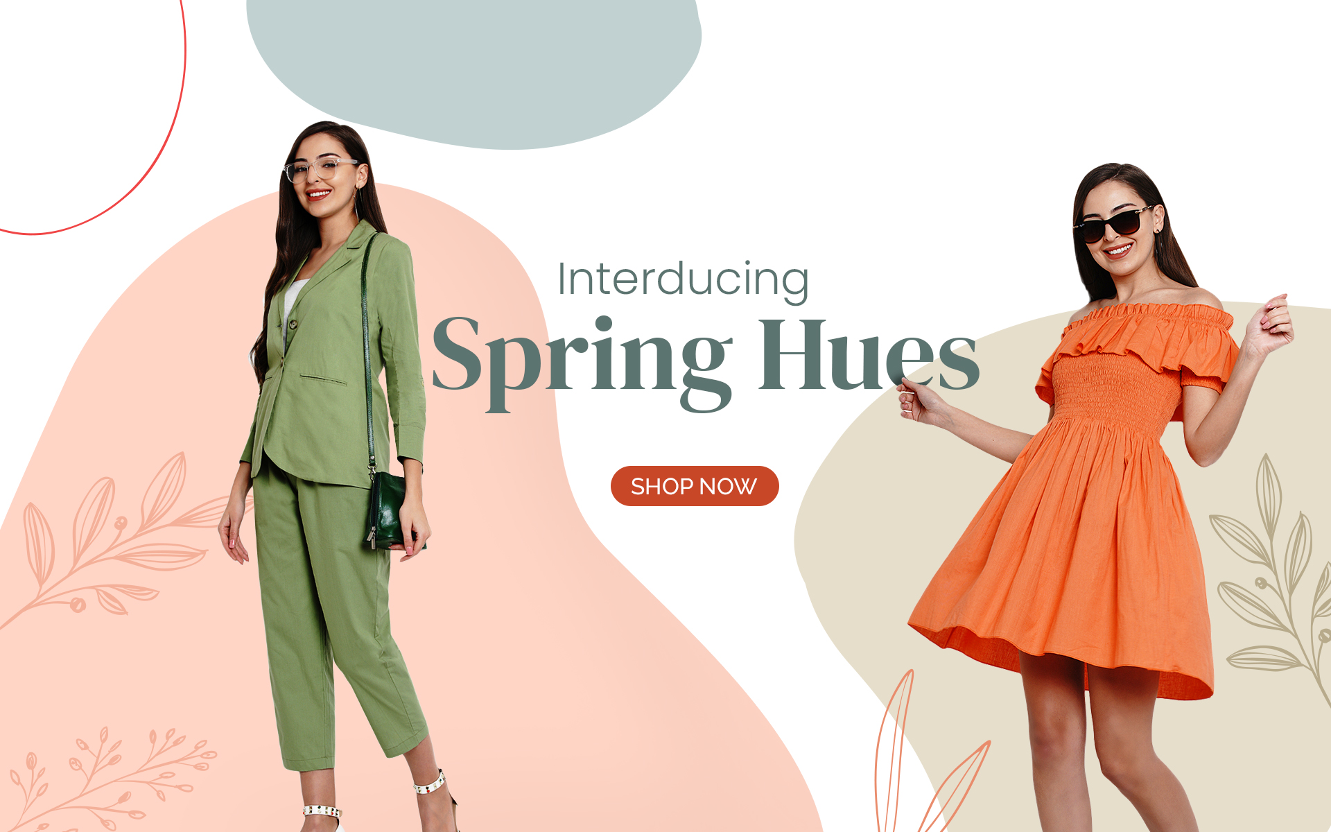 Spring hues collection